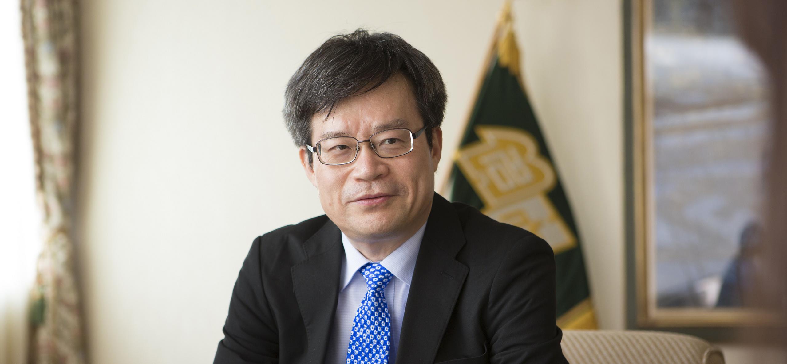 Hiroshi Amano, prix Nobel de physique 2014 ©Nagoya University