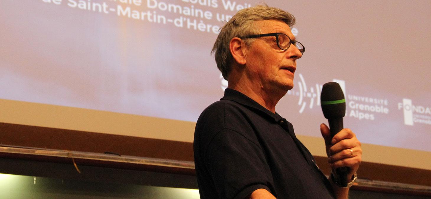 Jean-Jacques Favier lors de la conférence